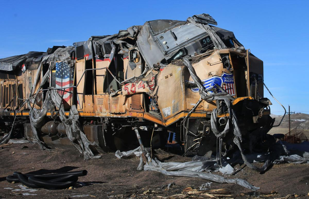 Widow of train collision victim sues Union Pacific for