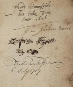 Baumfylde Manuscrip