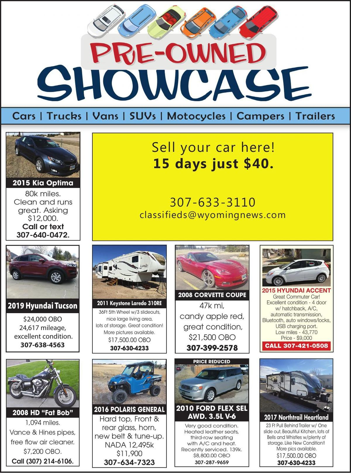 Pre-Owned Showcase
