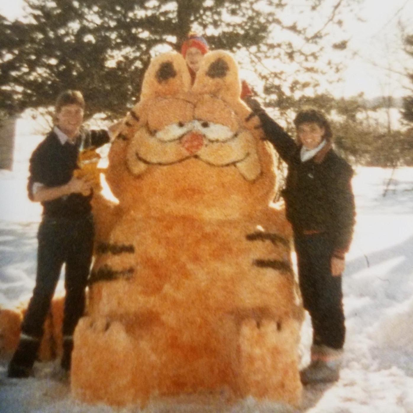 Garfield snowman No. 2