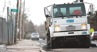 Street sweeper file photo