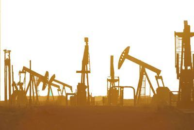 Oil rigs FILE