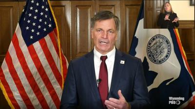 Wyoming Gov. Mark Gordon  Screenshot (copy)