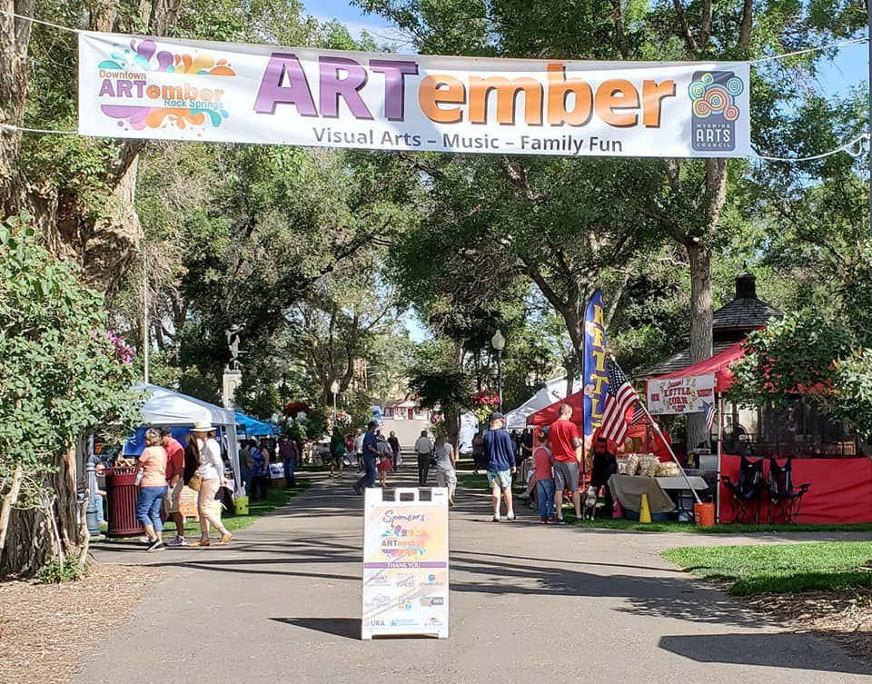 The public went shopping for art, listened to live music and enjoyed food from various food trucks during the annual ARTember, Sept. 11.