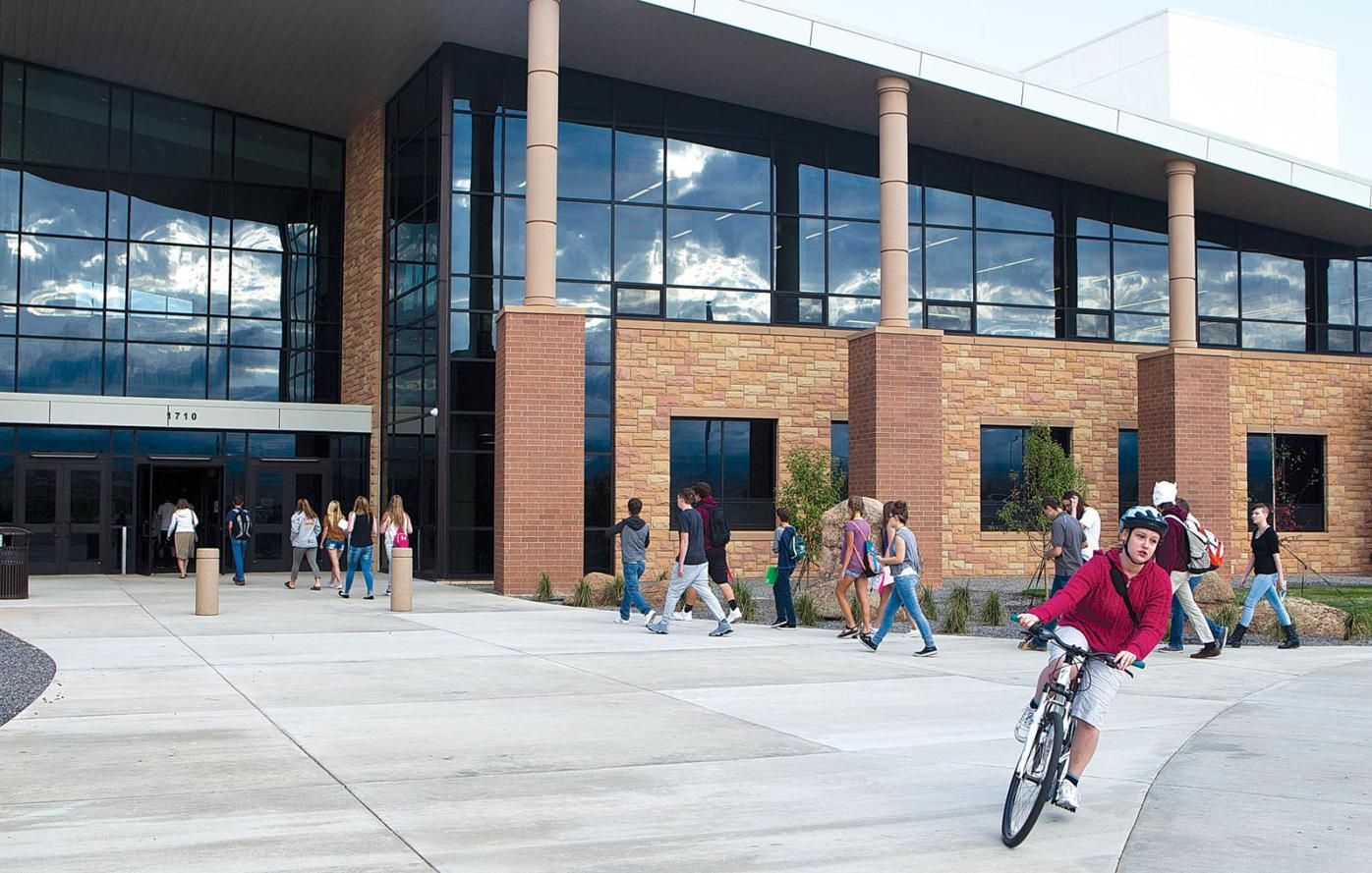 Laramie High School-first day of classes 2018