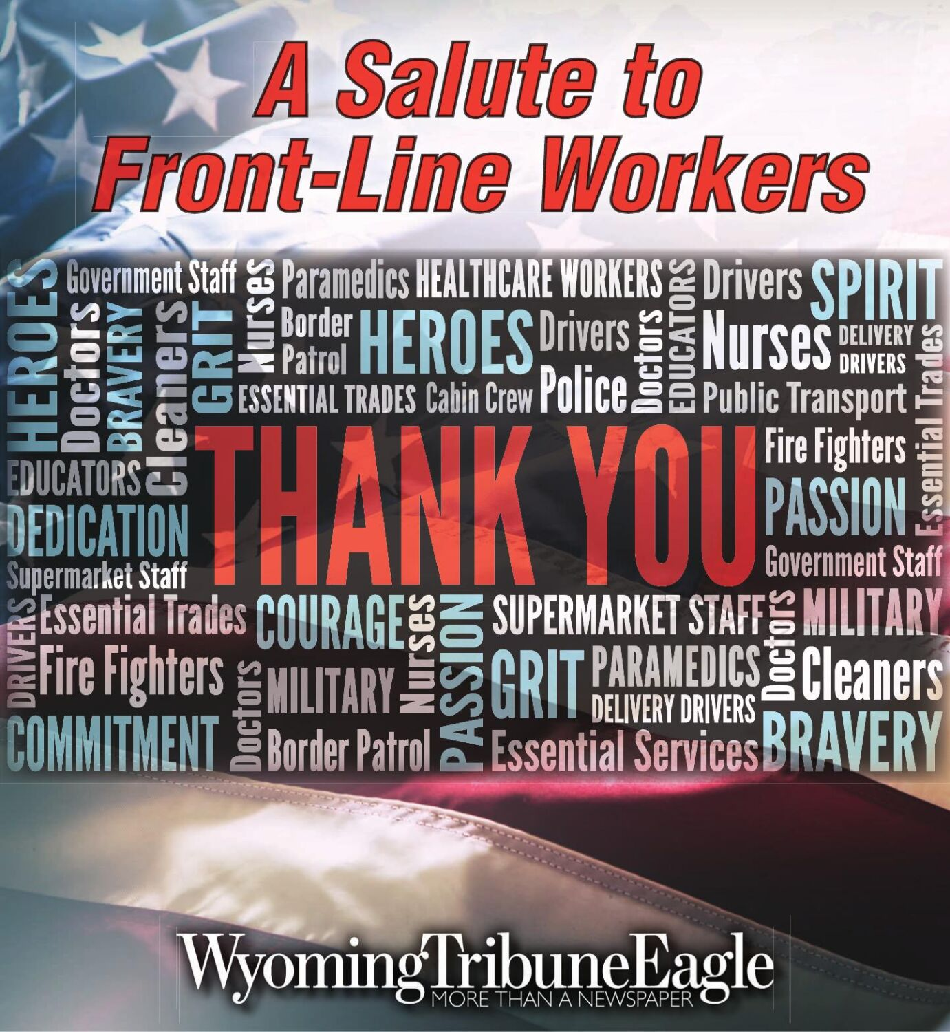 A Salute to Front-Line Workers