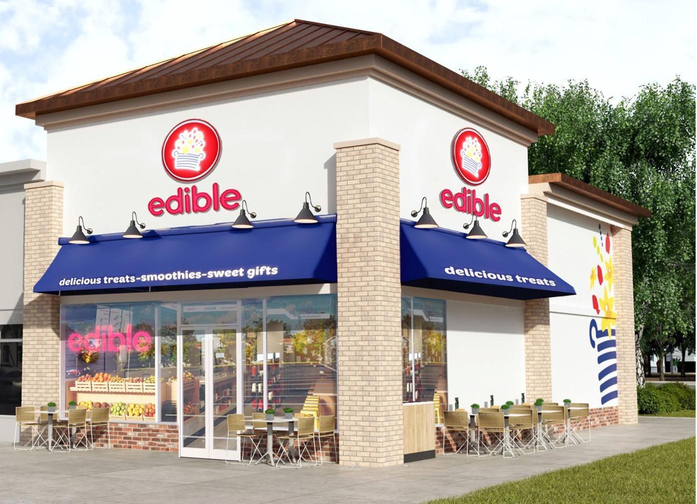 Edible exterior