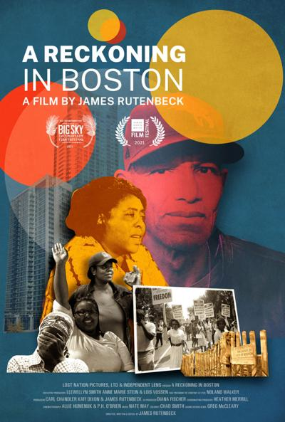 """""""A Reckoning in Boston"""" poster"""