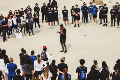 College athletes coming together to promote change