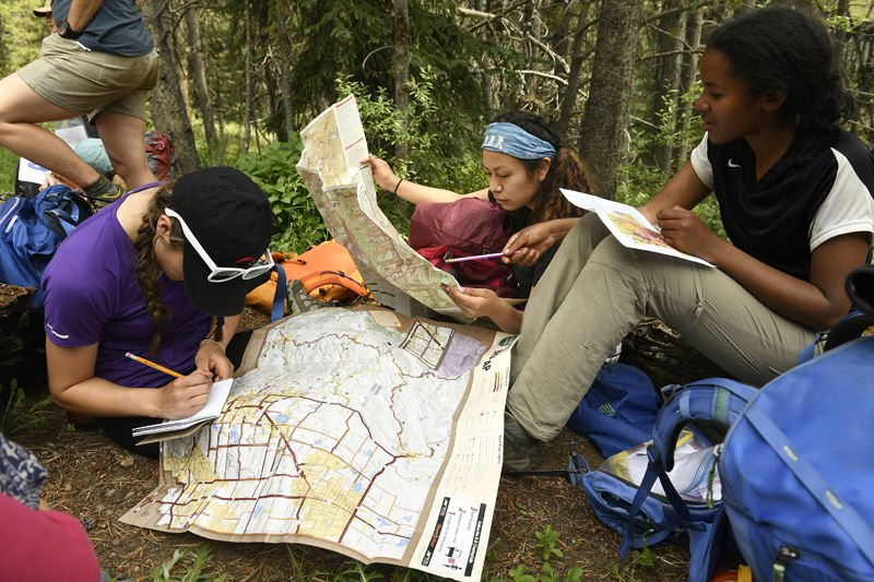 Teenage girls learning science in Colorado's backcountry | Wyoming News