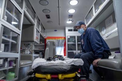 Laramie Fire Department Ambulance