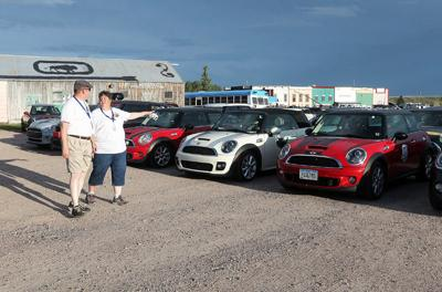 MINI Coopers invade Cheyenne for Feeding America