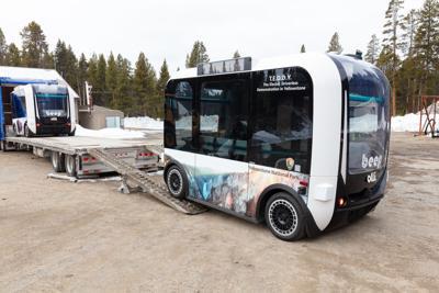 Yellowstone AV shuttle