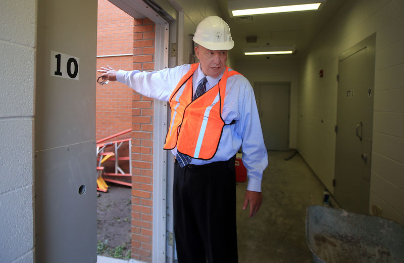 County jail expansion, renovation gets underway | Wyoming News
