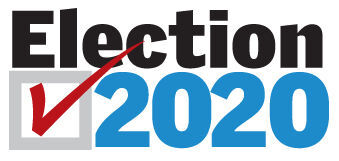 2020 ELECTION LOGO BLUE