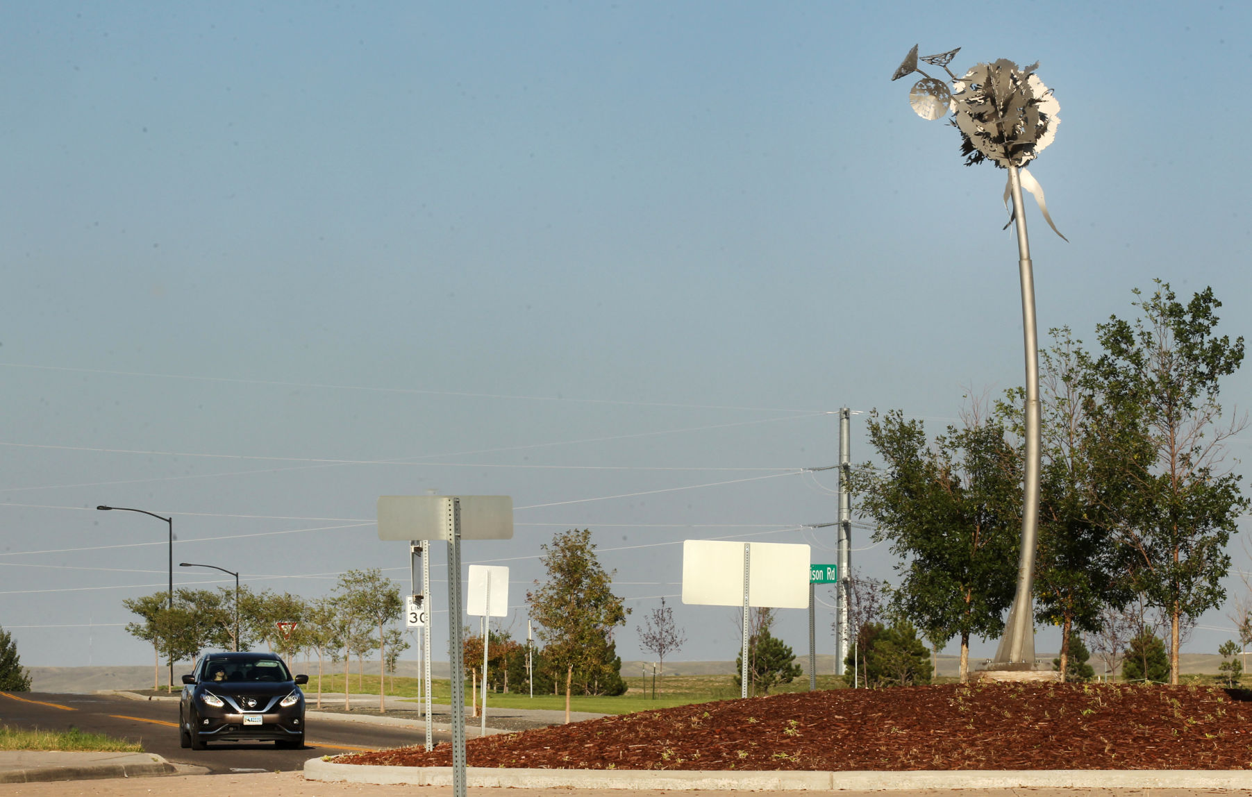 Ask the WTE: Why didn't the city finish the South High roundabout sculpture? | Wyoming News