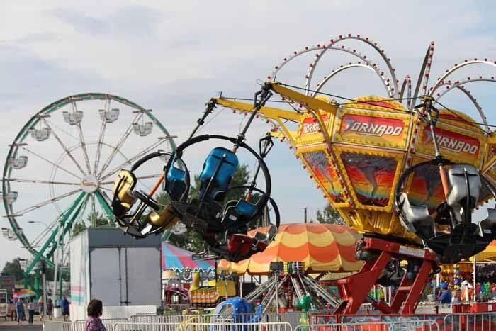 The Wyoming State Fair In Douglas Offers Carnival Rides