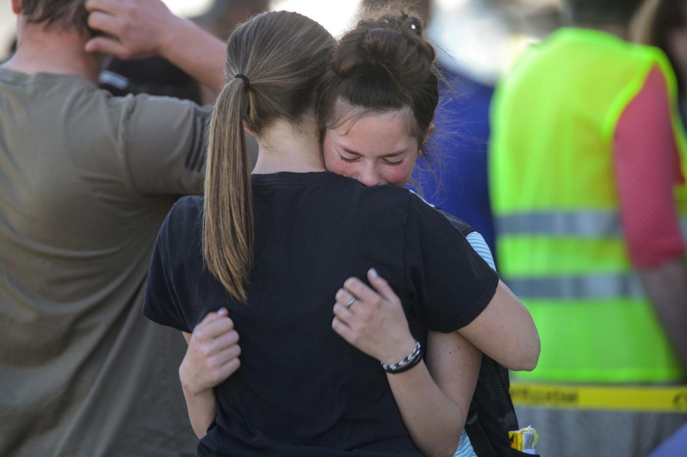 APTOPIX Idaho Shooting