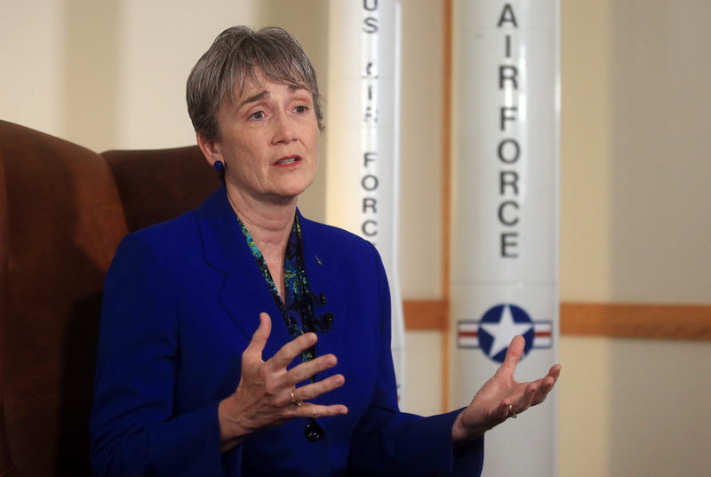 Secretary of the Air Force visits F.E. Warren Air Force Base | Wyoming News