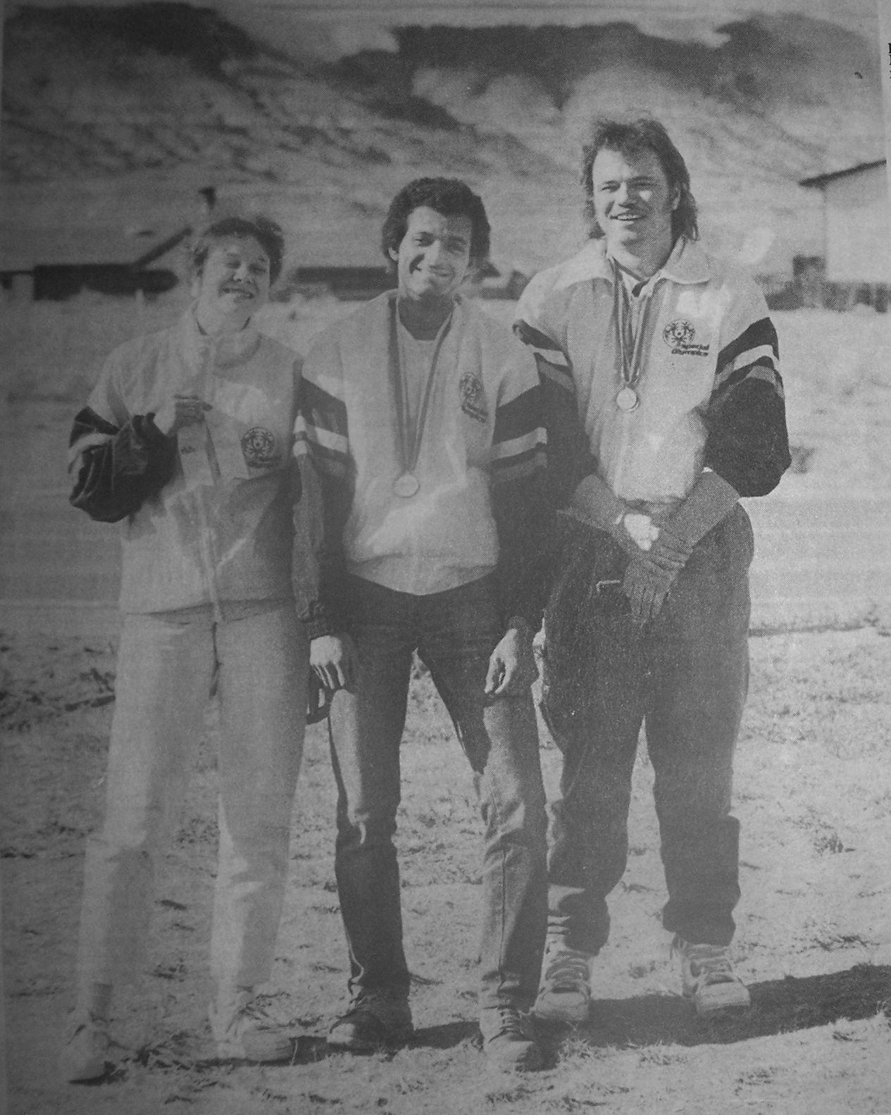 Melinda Roundy, Jeff King and Bert Zickefoose
