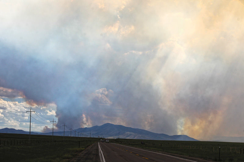 More aerial resources added to Badger Creek firefighting plan   Wyoming News