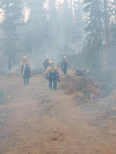Firefighters hike in on Monday-ed 10-05.jpg