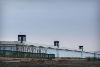 Room for 10,000: Inside China's largest detention center