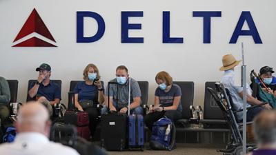 Virus Outbreak-Delta Air Lines