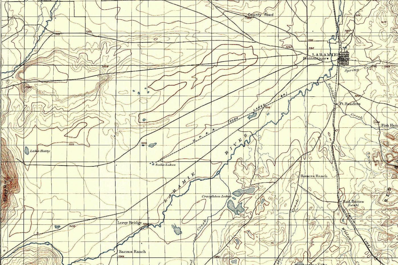 Mapping the Laramie Plains022821