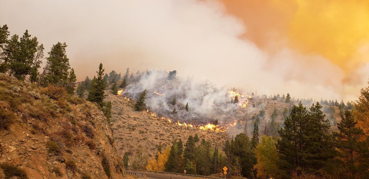 Highway 230-Mullen Fire