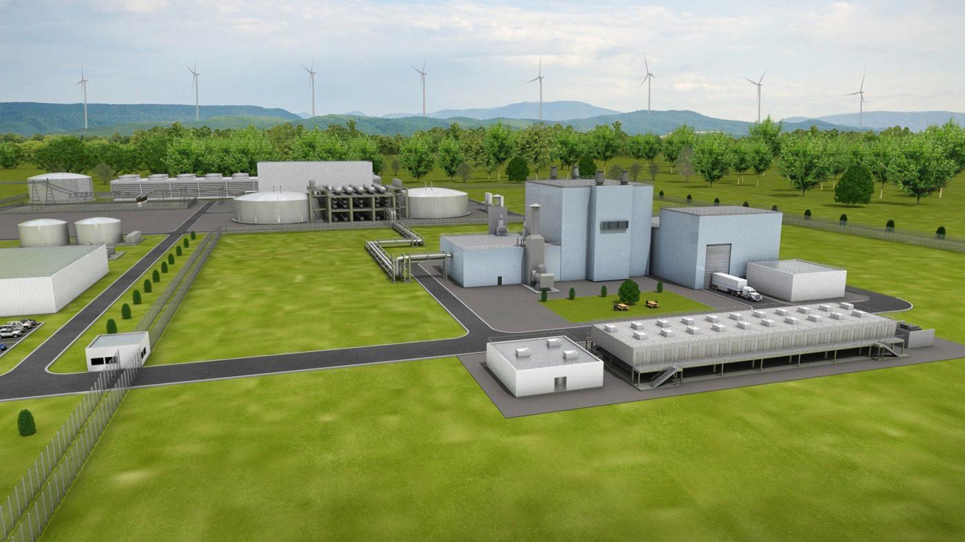Natrium nuclear power plant