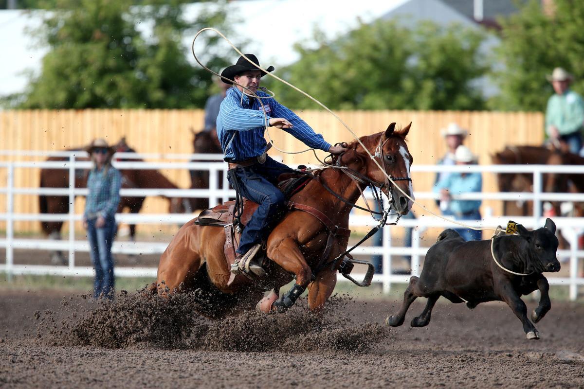 Cfd 2019 Tie Down Roping Slack Cheyenne Frontier Days