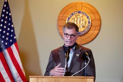 Governor Mark Gordon press conference