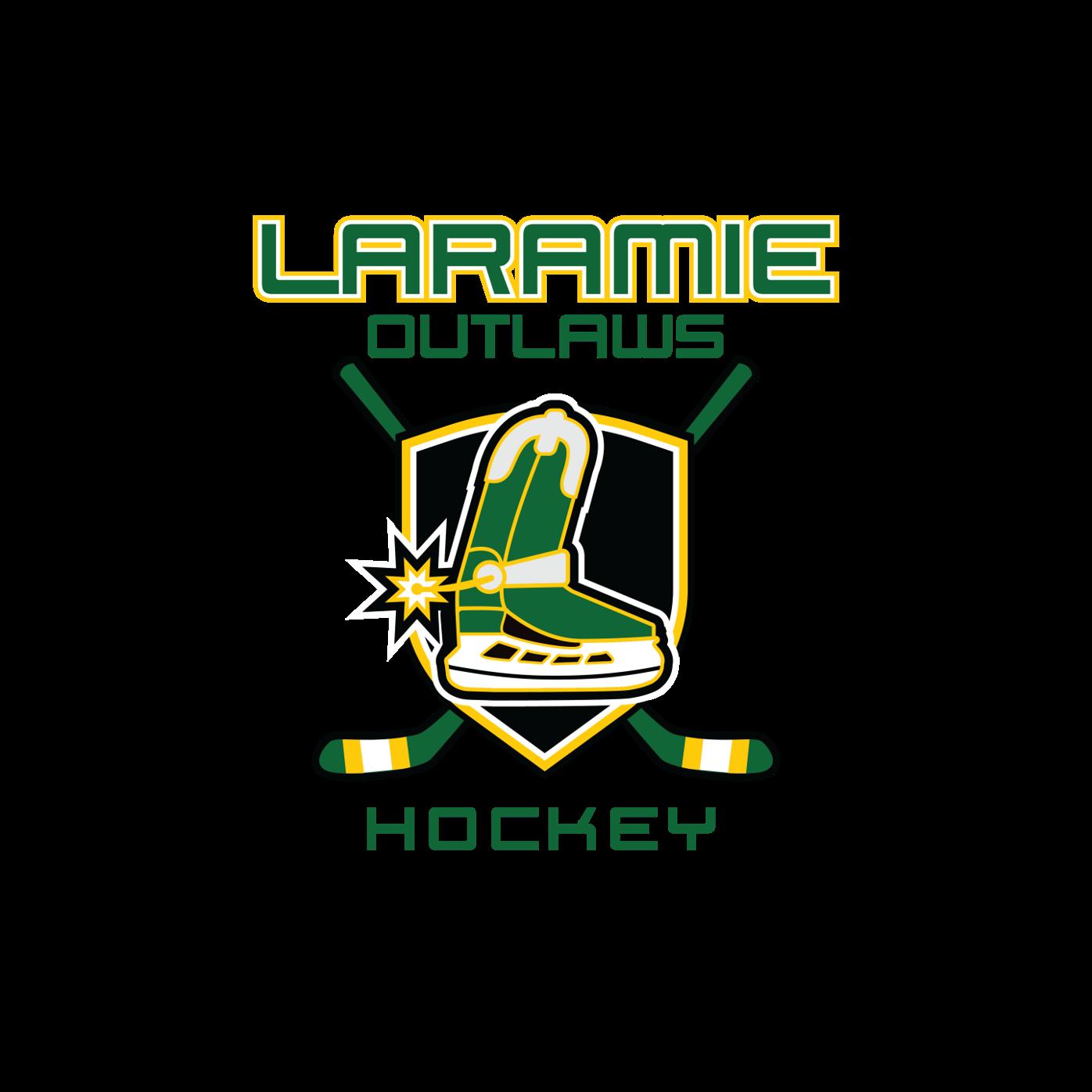 Laramie Outlaws Hockey logo