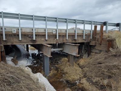 Bridge repaired