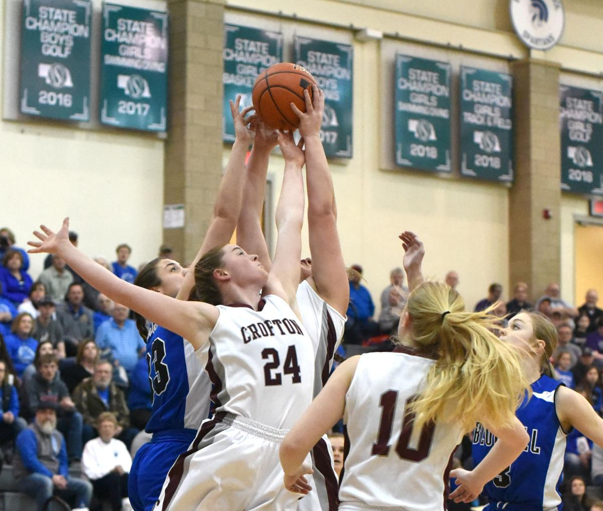Girls Basketball State Playoffs Open For Handful Of: Crofton Girls Open State Girls' Basketball Tournament With