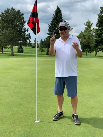 Hole-In-One During SDGA Husband-Wife Tourn.