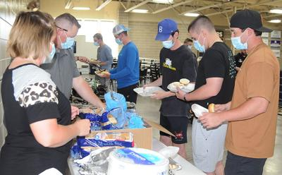 MMU Easter Feast Serves Up Holiday Spirit