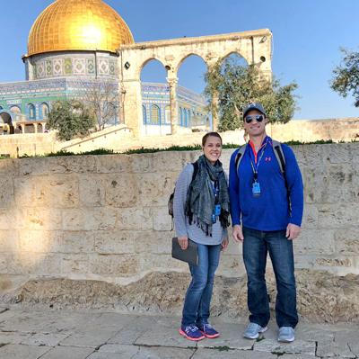 Pastor, Wife Visit History During Trip To Israel