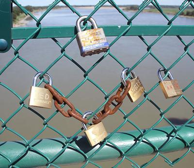 Love Locks Appearing In Yankton