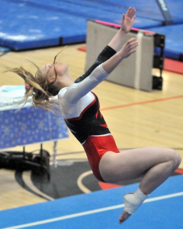 winter blast 2014 gymnastics meet score