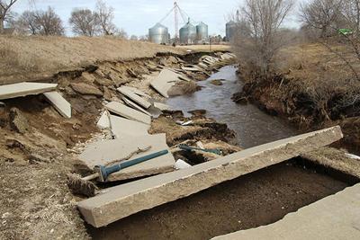 Auld-Brokaw Trail Repairs Advancing Slowly