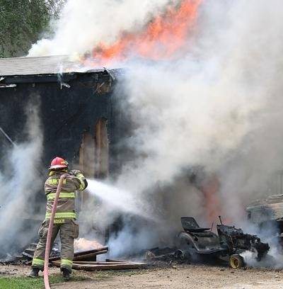 Two Left Homeless After Yankton Mobile Home Fire