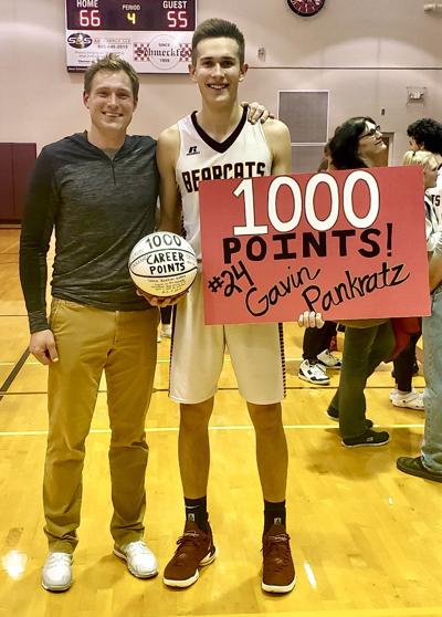 Pankratz Scores 1,000th Carer Point