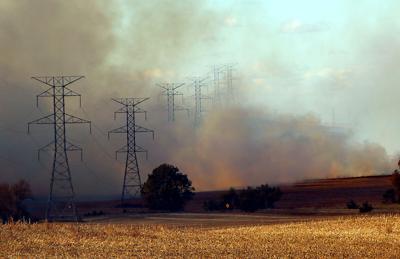 Five Fire Units Handle Field Blaze North Of Yankton