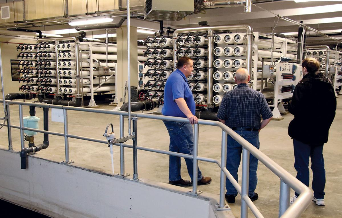 Yankton Water Plant Officially Goes Online