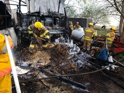 Fire Training Turns Into A Real Learning Experience