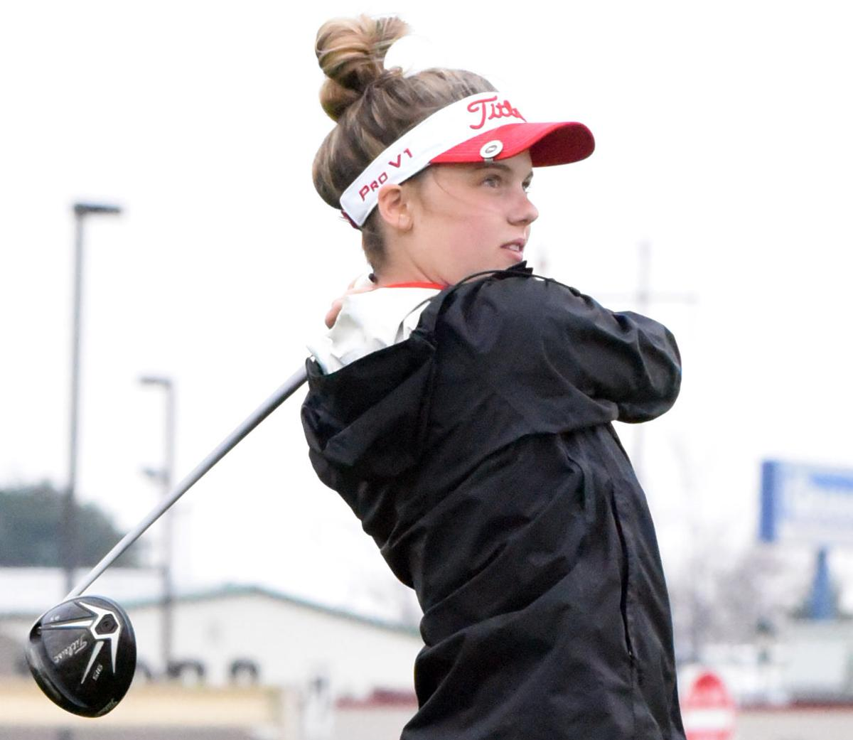 Golf: Gazelles Sweep Mitchell, Lincoln In Home Triangular ...