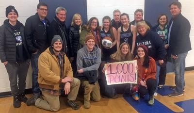 Malloy O'Malley Reaches 1,000 Career Points