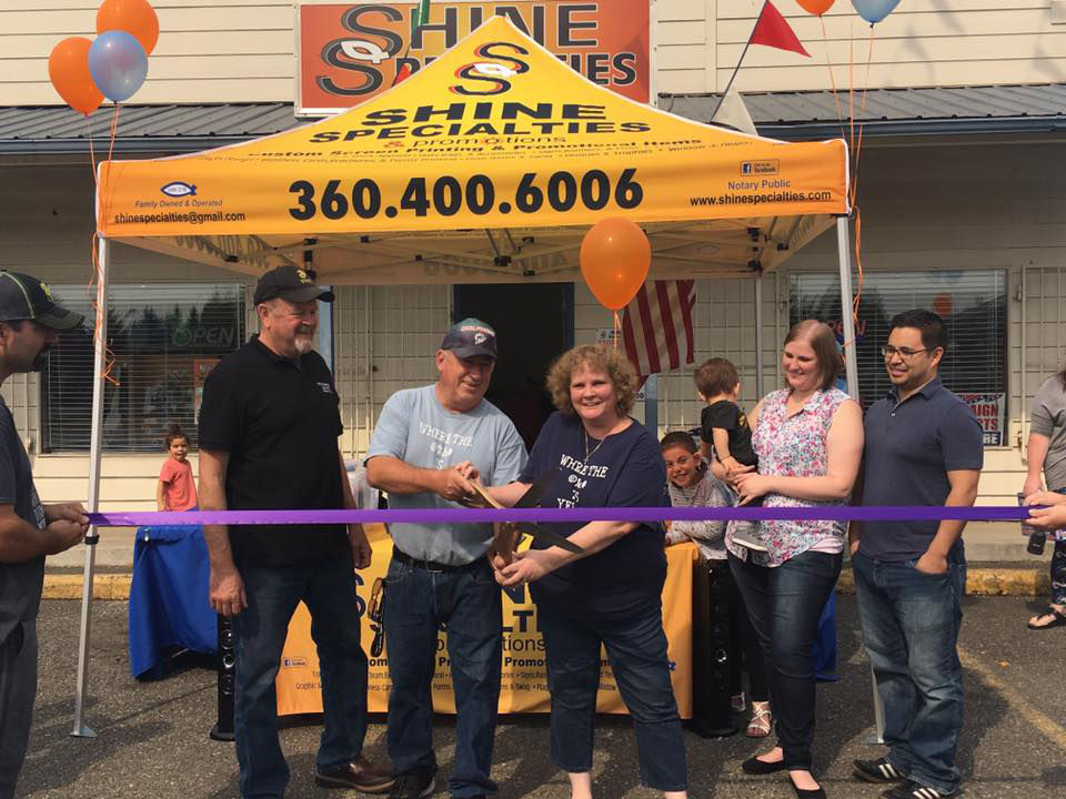 Shine Specialties & Promotions Ribbon Cutting Ceremony